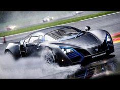 SuperCar Marussia necesidad de la velocidad de los más buscados.  Este juego es increíble