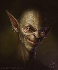 The Impish Imp by Larry Wilson | Fantasy | 2D | CGSociety