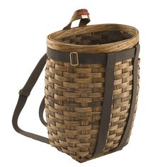 Frost River Pack Basket. Baskets, use 'em alone or pair with a pack. Cotton web shoulder straps and a grab handle are included.