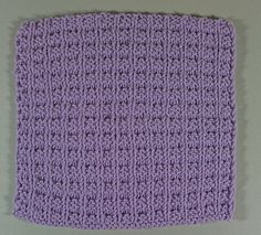 WARNING: It's addictive! Double Bump Scarf or Dishcloth Designer: MyJewelThief An excellent scarf or dishcloth pattern! Dishcloths that comes out square and lay flat - scarves that look great or male or female - an excellent pattern for making gift-giving...