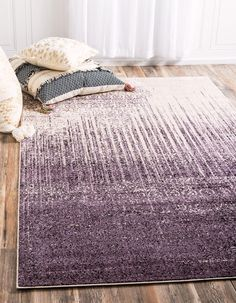 Purple 2' 2 x 3' Loft Rug | Area Rugs | eSaleRugs