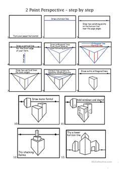 2pt perspective worksheet - Free ESL printable worksheets made by teachers