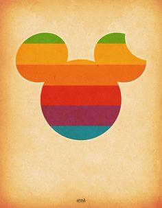 iMickey ou iMouse? Art Print by Universo do Sofa - Artes & Etecetera | Society6