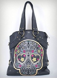 Sugar Skull Bag. love