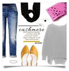 """""""Cozy Cashmere Sweater"""" by cheryl-82 ❤ liked on Polyvore featuring Louis Vuitton, Accessorize and cashmere"""