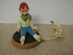 Vintage Howdy Doody Lamp Night Light Authentic 1950 Working - Another Available #NorEastNauticalsIncCambridge42MASS