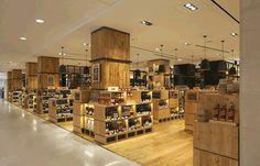 Project: Selfridges wine shop - Retail Focus - Retail Interior Design and Visual Merchandising