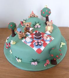 teddy bear picnic cakes | 6822184436_0e0472ef1a.jpg