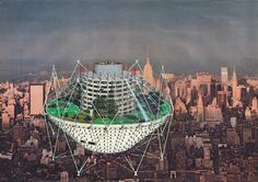 London's Architectural Association Exhibits Futuristic Work of Jan Kaplický