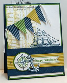 #papercraft #card The Open Sea CCMC248 by genesis - Cards and Paper Crafts at Splitcoaststampers