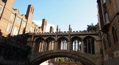 Cambridge - St John's College - Bridge of Sighs