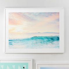 Pottery Barn Teen SoCal Sorbet 4 Wall Art by Minted®