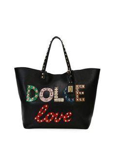 0908296cce71 Shop All Designer Handbags at Neiman Marcus. Calf LeatherLeather BagBlack  Tote BagShoulder ...
