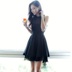 67034 Elegant High Low Design Dress