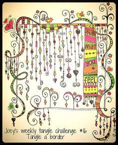 Cool Zenspirations dangle design; madebyjoey.