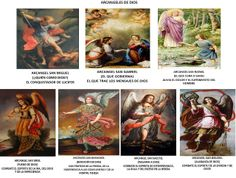 ANGELES DE DIOS: ORACIONES A LOS ARCÁNGELES     A SAN MIGUEL ARCÁN...