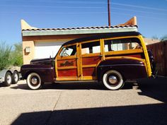 1946 Ford Super Deluxe Woodie Woody Wagon Surf SCTA 1932 34 Surf