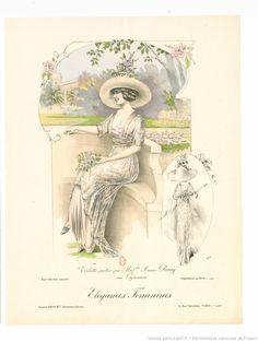 Élégances féminines : revue mensuelle de la grande couture parisienne / Gaston Drouet, directeur -- 1911-12 -- periodiques