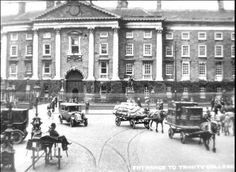 Old photo of College Green