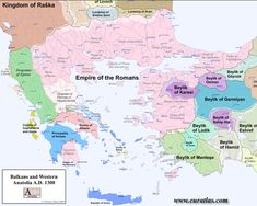 Balkans and Western Anatolia A.D. 1300