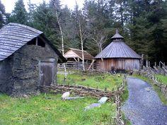 Viking town in Norway