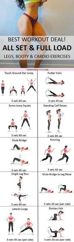 Repin and share if this workout was wonderful for your legs and bum! Read the post for all the info!