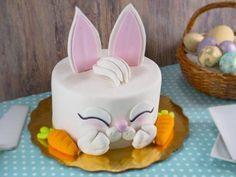 Receta de Decoración de pastel de conejo