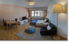 Studio in Geneva - Rue de Paquis **** - Furnished apartment - GENEVA -  - CHF 2850 Rent beautiful and ecological studio located in Geneva, close to everything!  This newly renovated studio is perfect for a solo person or couple.  With serene furnishings, this well laid out studio fe