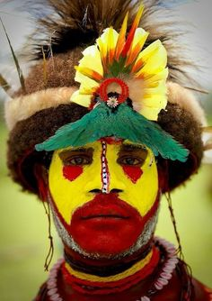 Man from Papua New Guinea.
