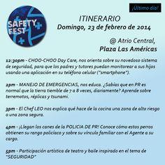 Agradecida por la oportunidad de colaborar en el #PlazaSafetyFest!!! Los esperamos HOY, domingo! #últimodía #seguridad #educación #terremotos #cuidos #niños #k9 #cocina #alimentos #baile