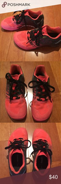 Women s Reebok Nanos 5.0 Women s Reebok Nanos 5.0 - the color is a neon  pink  5f2a418d8