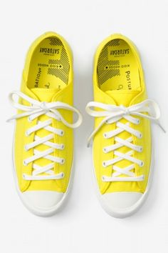 Bright yellow from Kate Spade Saturday
