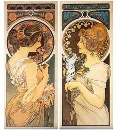 Art Nouveau en Jugendstil inspireren me.