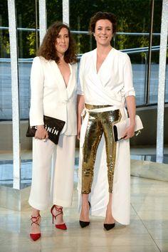 Pin for Later: Seht die schönsten Outfits der Stars bei den CFDA Awards in New York Clare Vivier und Garance Dore