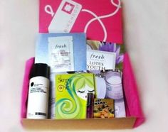 Birchbox.com ... monthly beauty product goodie box subscription