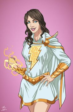 Lady Marvel commission by phil-cho on DeviantArt Mr Marvel, Captain Marvel Shazam, Superhero Characters, Dc Comics Characters, Dc Comics Art, Marvel Dc Comics, Super Heroine, Univers Dc, Superhero Design