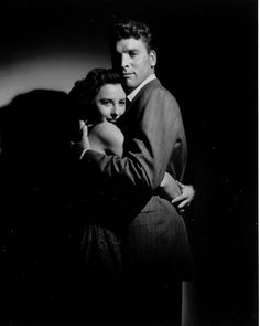 Barbara Stanwyck and Burt Lancaster, 1948, publicity shot for Sorry, Wrong Number