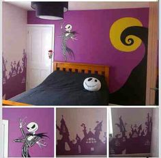 Nightmare Before Christmas bedroom decoration