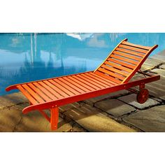 <li>Environmentally responsible outdoor chair has an appealing design</li> <li>Patio furniture provides comfortable seating year round</li> <li>Chaise lounge is crafted of the finest materials for exceptional durability and quality</li> $150