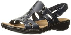 Clarks Womens Leisa Lakelyn Flat Sandal -- Click image for more details. (This is an Amazon affiliate link)