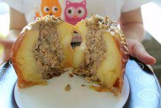 Merisor umplut | Muffin, Breakfast, Desserts, Food, Morning Coffee, Deserts, Dessert, Meals, Muffins