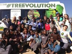 Mercedes, Sandown Motors and Reliance helped us out with this fabulous #Treevolution Mobile. THANK YOU!