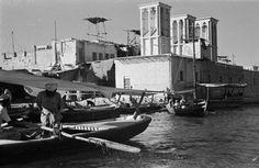 View of an abra (ferry ...