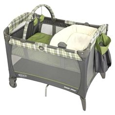 Graco Reversible Pack n Play Playard Napper - Roman, $99.99, target.com (also available at walmart.com, $94.84)