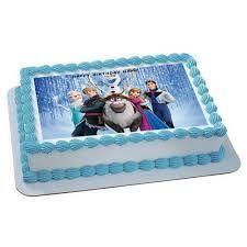 Edible Cake Decorations Target : Disney Frozen Sheet Cake - Super Target Bakery Sydney s ...