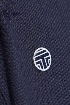 Tory Sport - Coolmax Cotton-blend Piqué Polo Shirt - Navy -