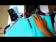 Hi Friends, In this video I will teach you how to make a Creative and very latest neck design by New Kriti Boutique. Creative neck design If you like this de. Chudidhar Neck Designs, Salwar Neck Designs, Neck Designs For Suits, Kurta Neck Design, Blouse Back Neck Designs, Latest Kurti Designs, Blouse Designs, Neckline Designs, Dress Designs