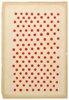 red polka dots.  margaret kilgallen Margaret Kilgallen, Wiener Werkstätte, Art Design, Textile Patterns, Color Patterns, Print Patterns, Red Dots, Polka Dots, Wordpress
