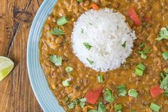 Creamy Peanut Butter and Lentil Curry