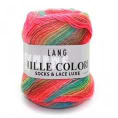 Lang Yarns Mille Colori Socks & Lace Luxe 50